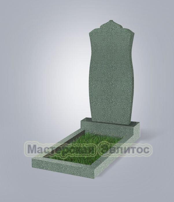 Памятник №105 (зеленый гранит)
