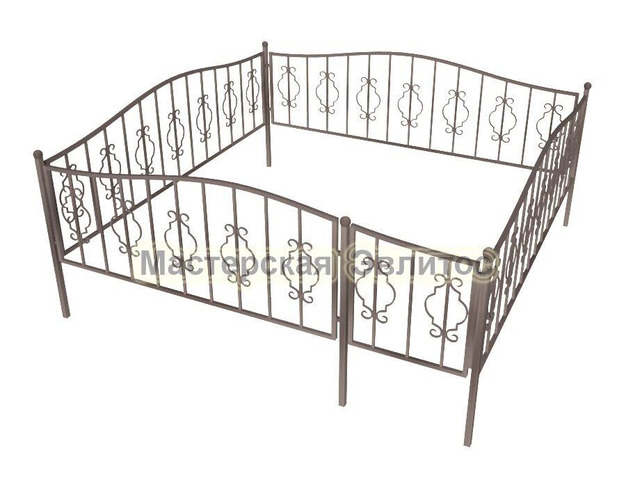 Ограда кованая К17