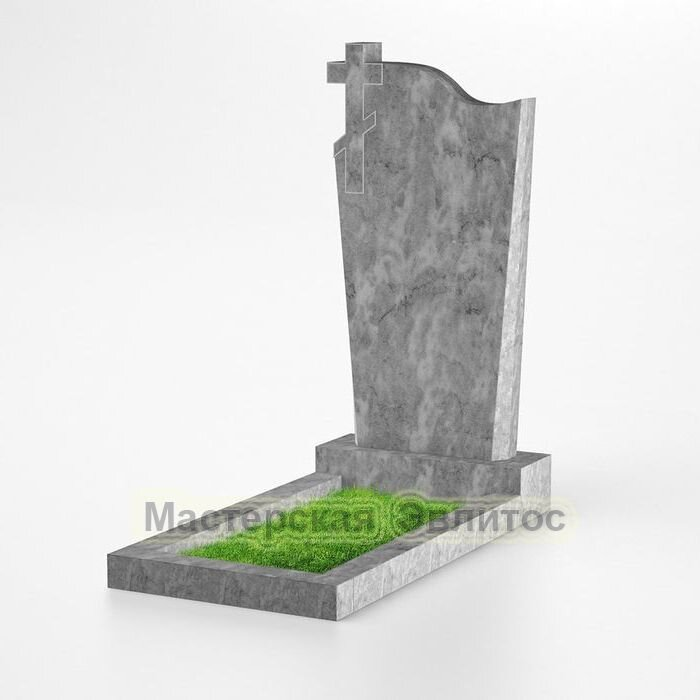 Фигурный памятник из мрамора №106