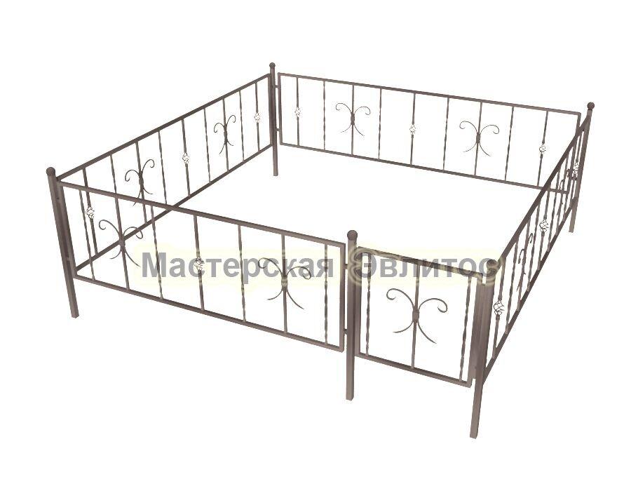 Ограда кованая К18