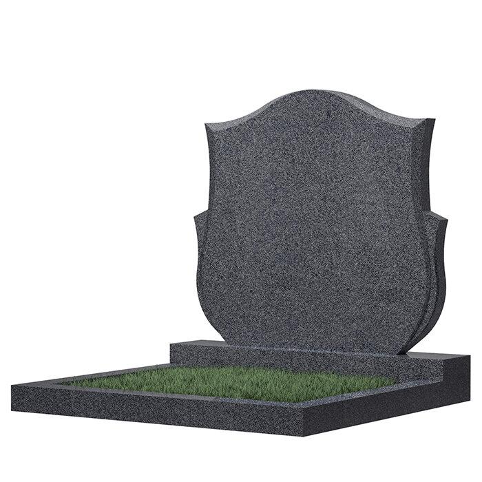 Семейный памятник №87 (светло-серый гранит)