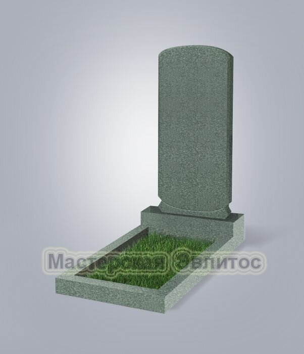 Памятник №107 (зеленый гранит)