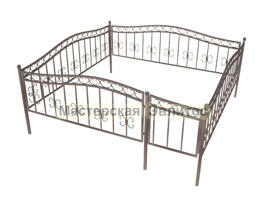 Ограда кованая К19