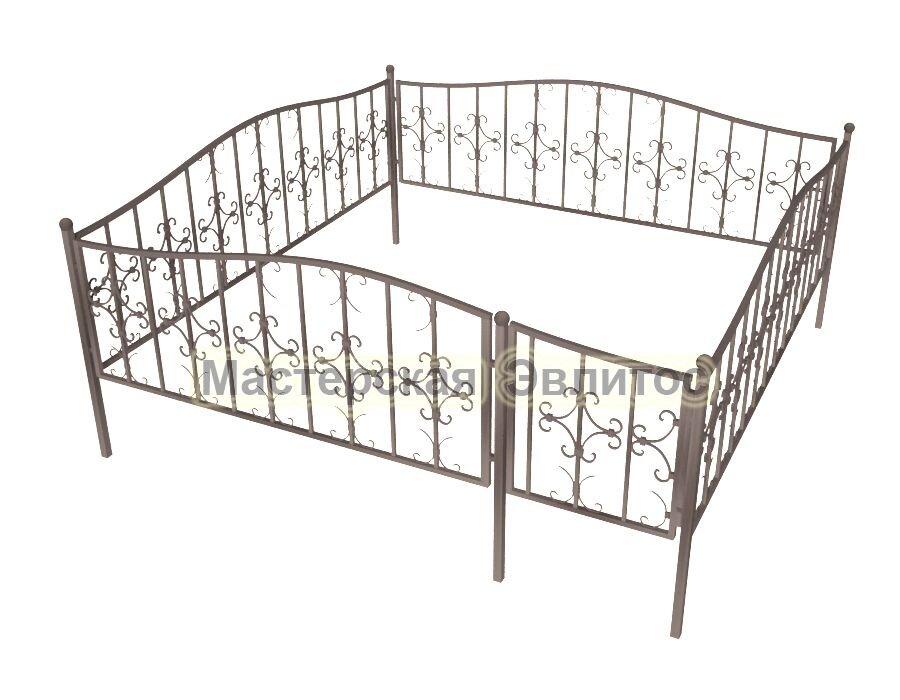 Ограда кованая К20