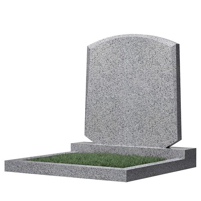 Семейный памятник №66 (светло-серый гранит)
