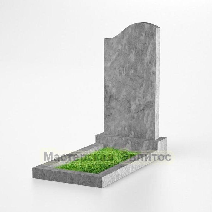 Фигурный памятник из мрамора №110