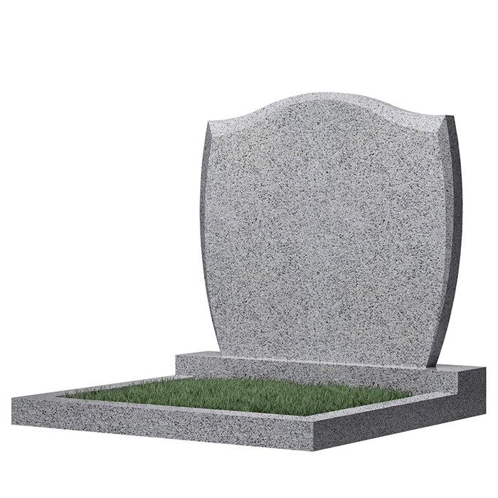 Семейный памятник №46 (светло-серый гранит)