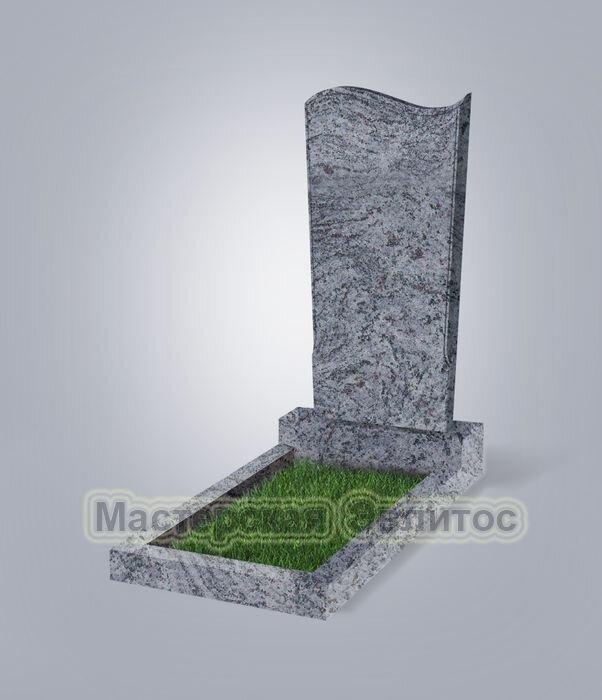 Памятник №13 (голубой гранит)