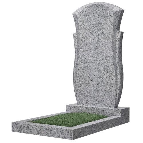 Памятник гранитный №82В (светло-серый)