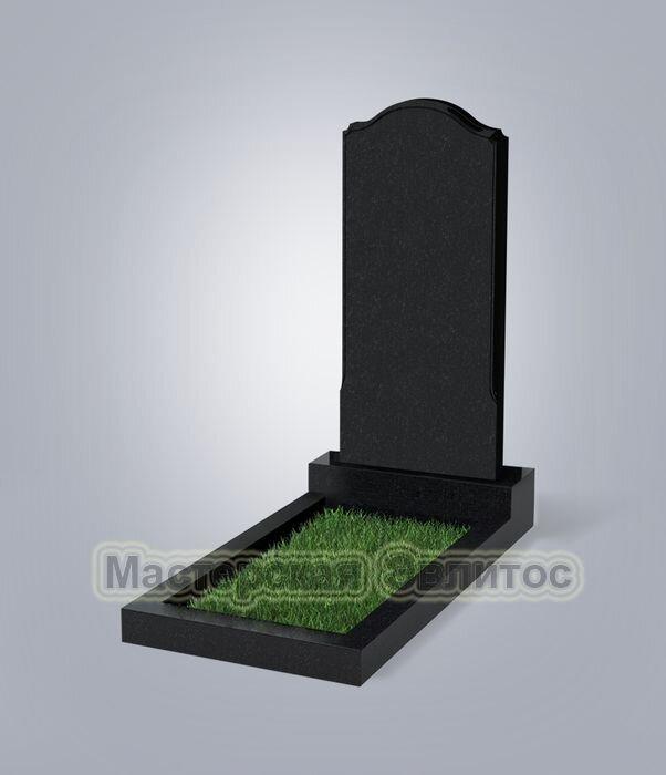 Памятник №11 (черный гранит)