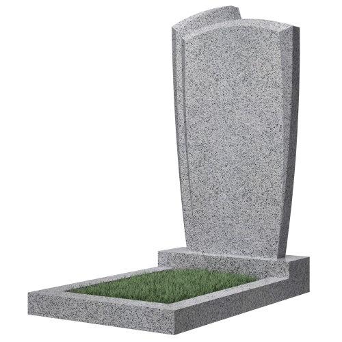 Памятник гранитный №81В (светло-серый)