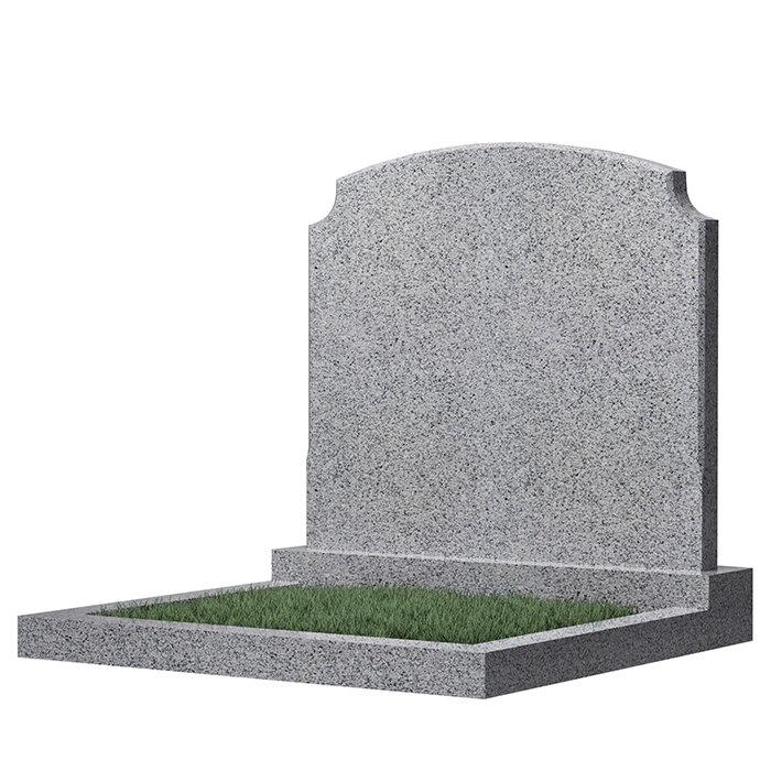 Семейный памятник №17 (темно-серый гранит)