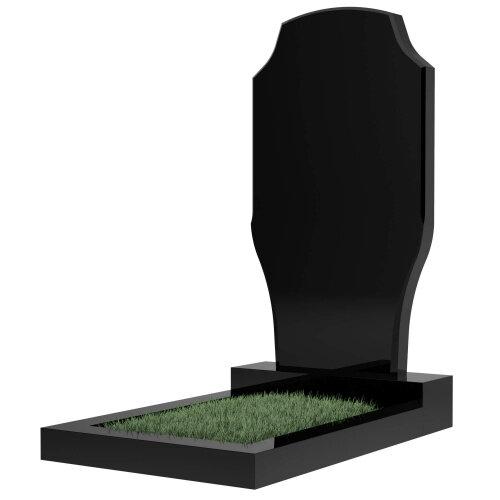 Памятник №12 (черный гранит)