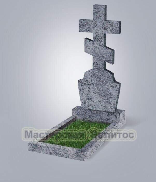 Памятник №40 (красный гранит)