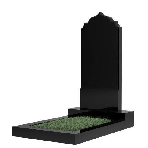 Памятник гранитный №19В (светло-серый)
