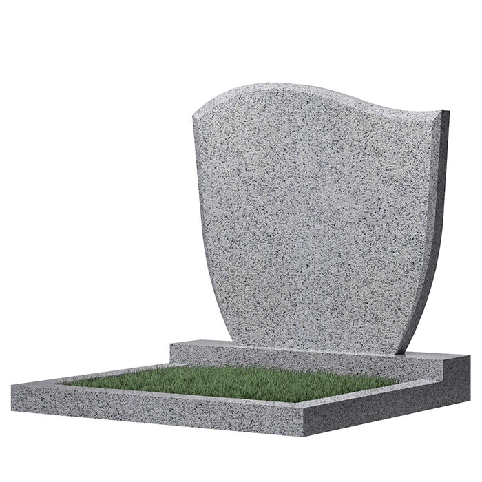 Семейный памятник №65 (темно-серый гранит)