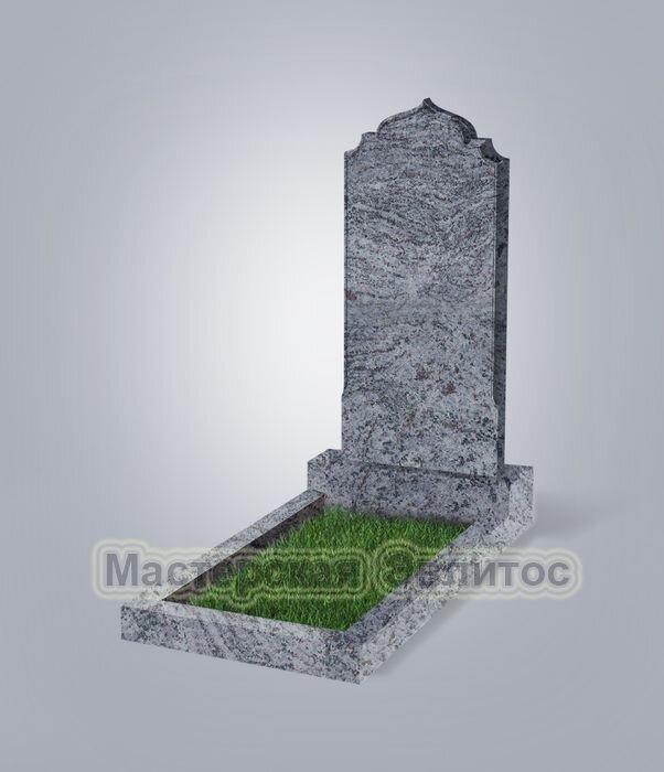 Памятник №19 (голубой гранит)