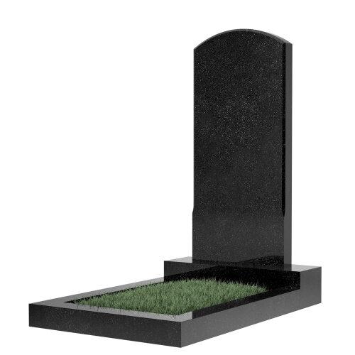 Памятник гранитный №18В (светло-серый)