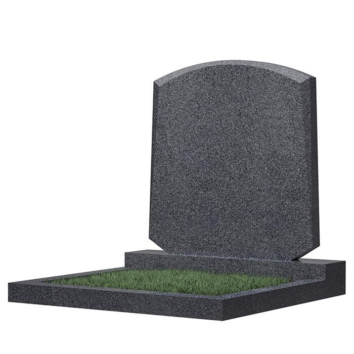 Семейный памятник №66 (темно-серый гранит)