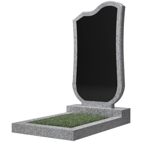 Памятник гранитный №15В (светло-серый)