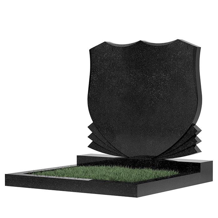 Семейный памятник №86 (темно-серый гранит)
