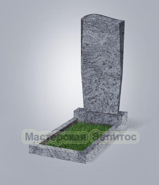 Памятник №21 (голубой гранит)