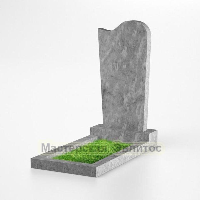 Фигурный памятник из мрамора №117