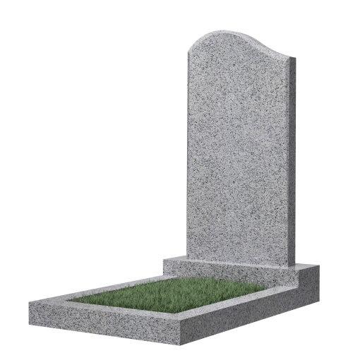 Памятник гранитный №14В (светло-серый)