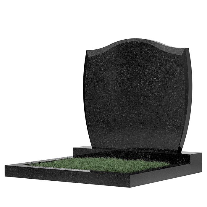 Семейный памятник №46 (темно-серый гранит)