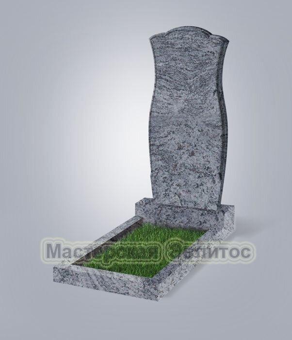 Памятник №30 (голубой гранит)