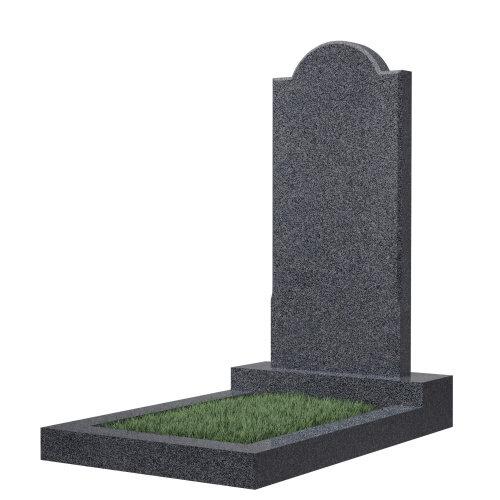 Памятник гранитный №10В (светло-серый)