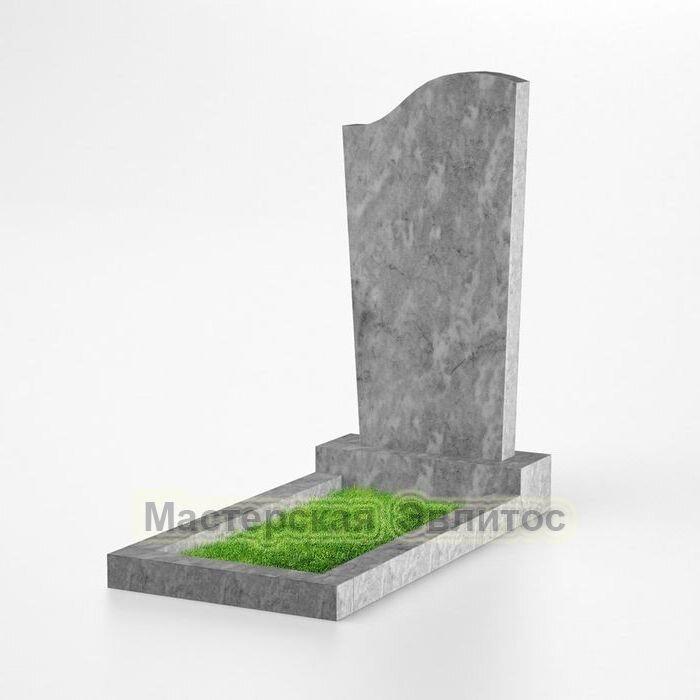Фигурный памятник из мрамора №120