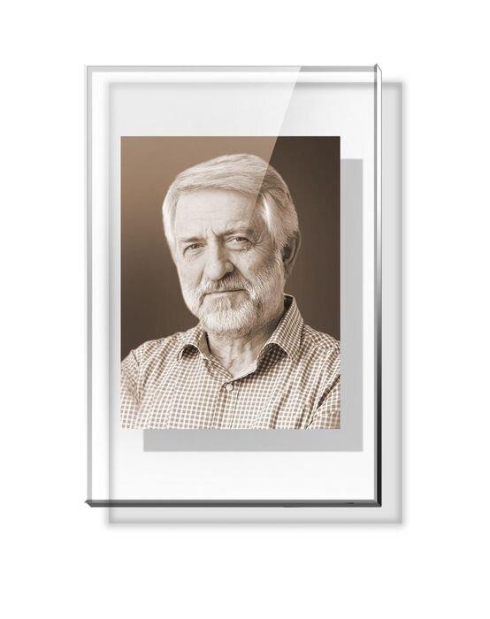 Портрет прямоугольный на стекле №164