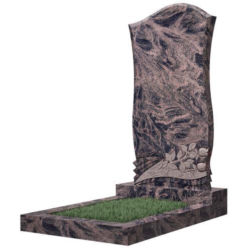 Памятник №48Е (красный гранит)