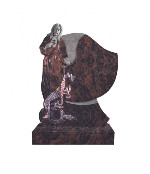 Памятник элитный №18 (красный гранит)