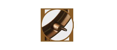 Прямоугольная рамка №2 (бронзовая)