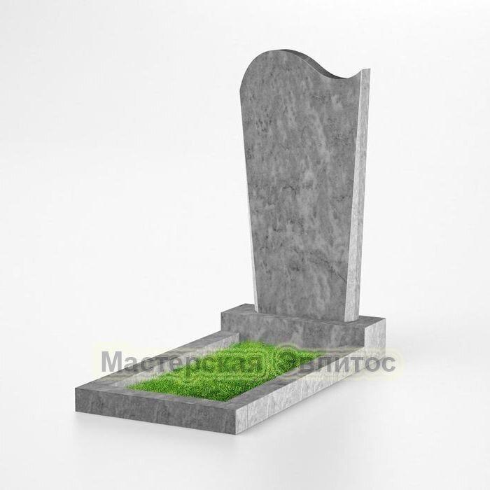Фигурный памятник из мрамора №124