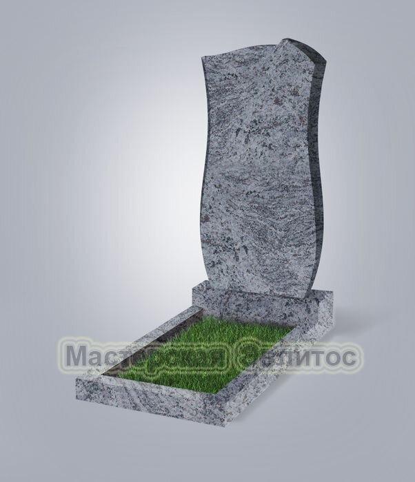 Памятник №41 (голубой гранит)
