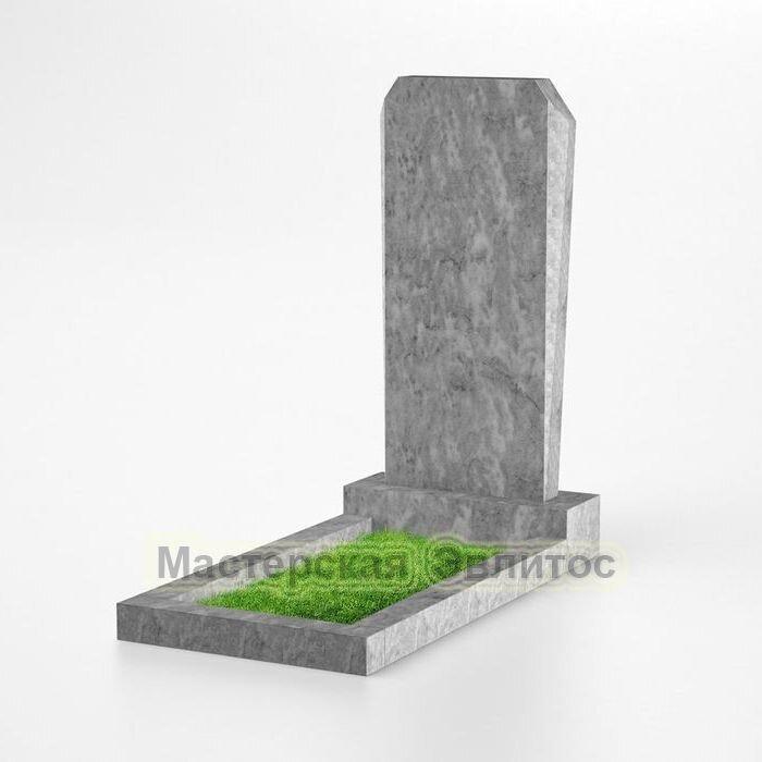 Фигурный памятник из мрамора №125