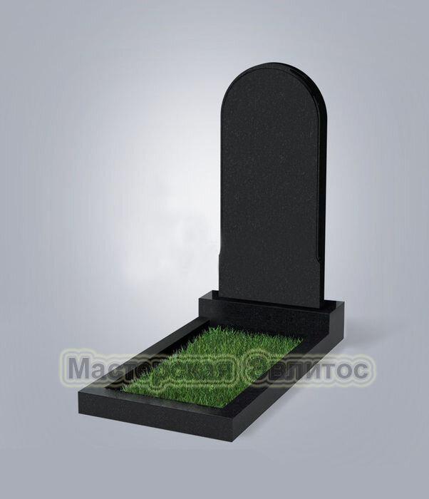 Памятник №28 (черный гранит)