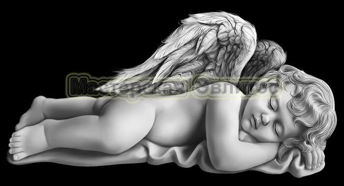 Ангел спящий в Томске