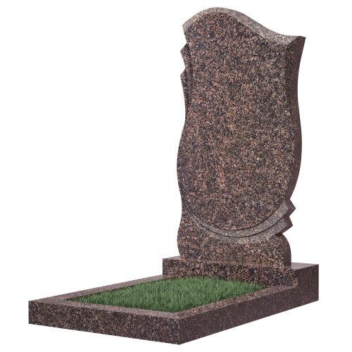 Памятник гранитный №58В (светло-серый)