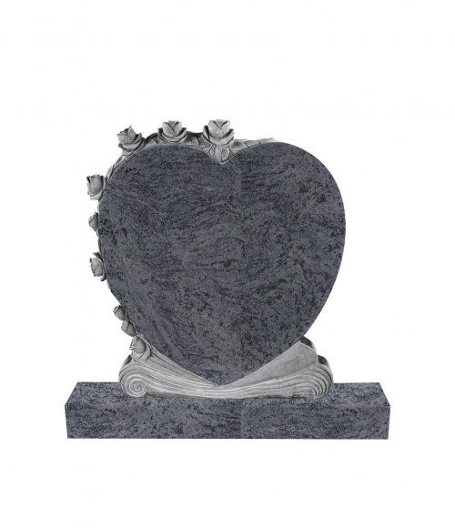 Памятник элитный №13 (красный гранит)