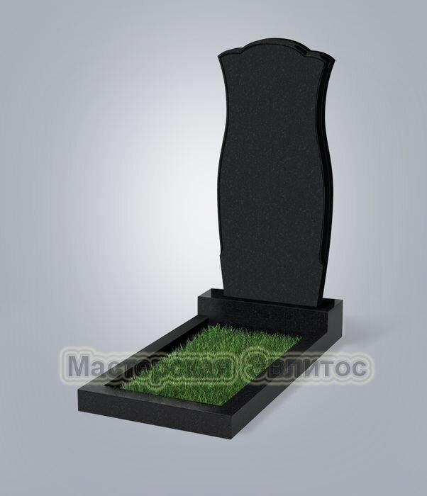 Памятник №30 (черный гранит)