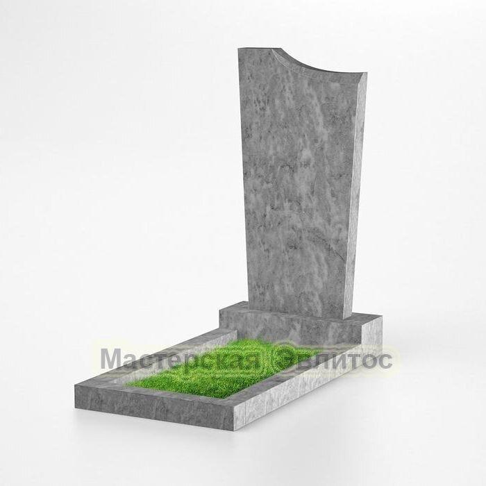 Фигурный памятник из мрамора №128