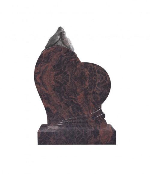 Памятник элитный №11 (красный гранит)