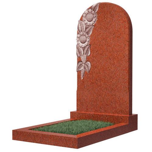 Памятник №62 (красный гранит)
