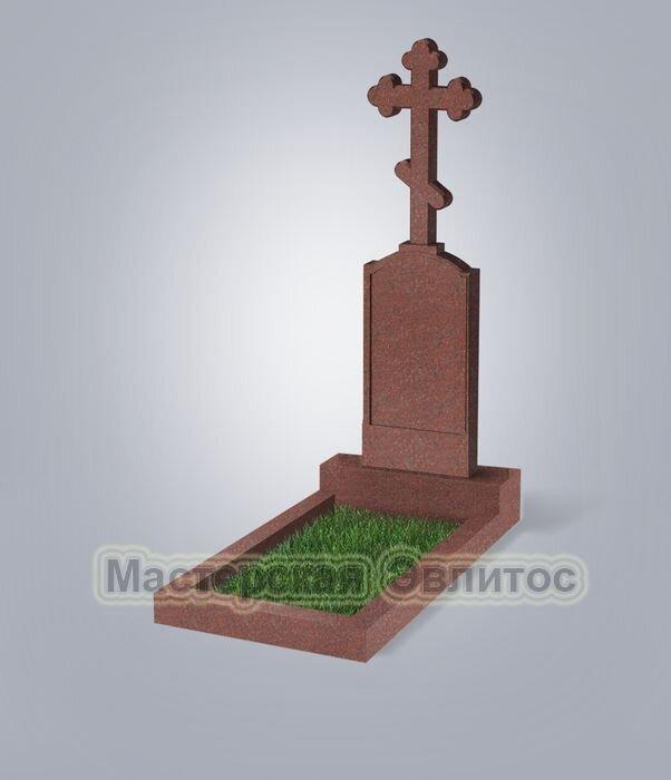 Памятник №69 (красный гранит)