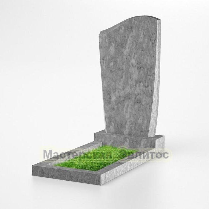 Фигурный памятник из мрамора №130