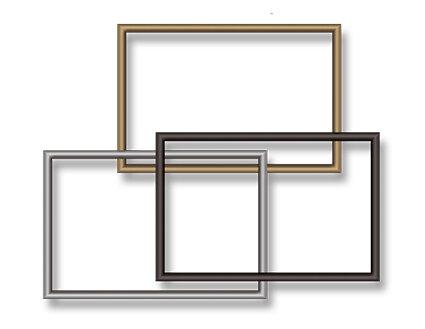 Металлическая рамка для временных табличек